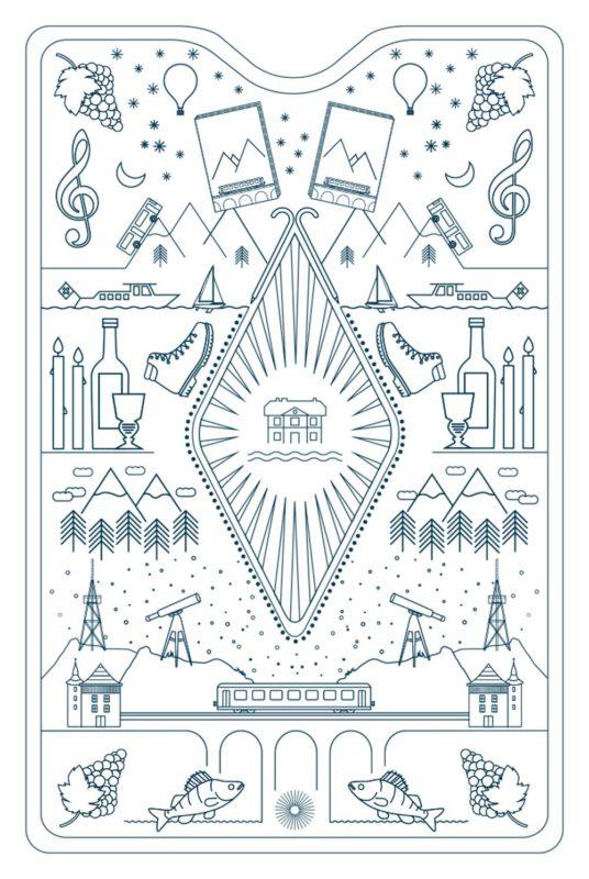 Kartenset Transhelvetica